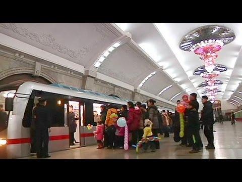 North Korea: new subway train a source of national pride