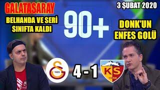 Galatasaray 4-1 Kayserispor | Ali Ece Maç Sonu Yorumları | Aslan Seriye Bağladı | 3 Şubat 2020