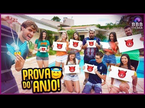 PROVA DO ANJO DA SORTE!! - BBB DA CASA [ REZENDE EVIL ]