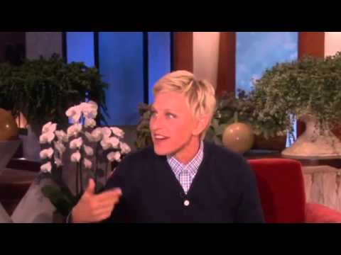 Ellen Tries to Make Chris Pine Cry on The Ellen Degeneres Show