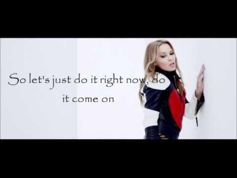 Kylie Minogue - Timebomb Lyrics on Screen HD