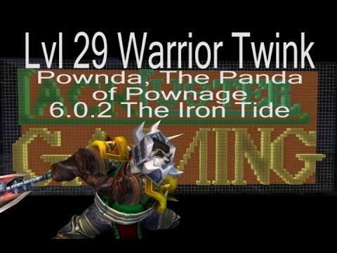 best lvl 29 warrior twink