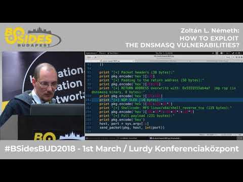 Zoltán L. Németh - How to exploit the DNSmasq vulnerabilities?