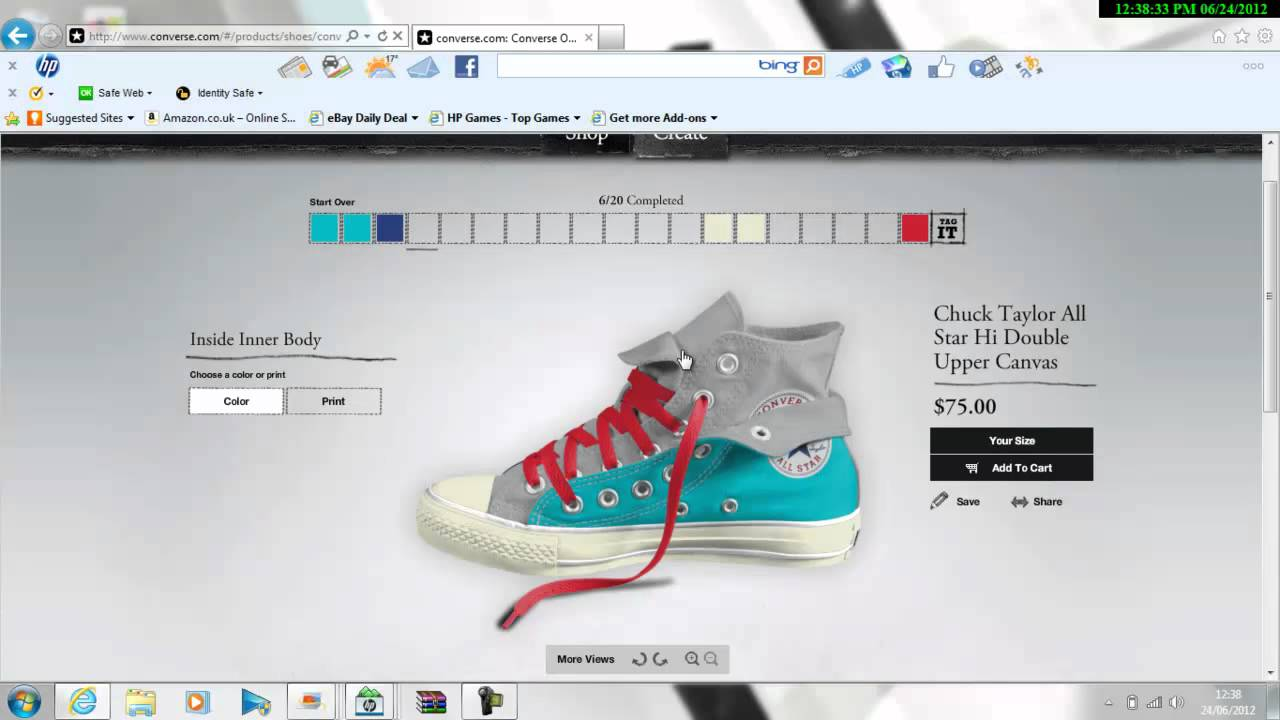 Create Your Own Converse!!! - YouTube 38e1a64b6