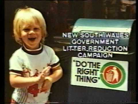 Do The Right Thing Campaign (Australian ad, 1979)