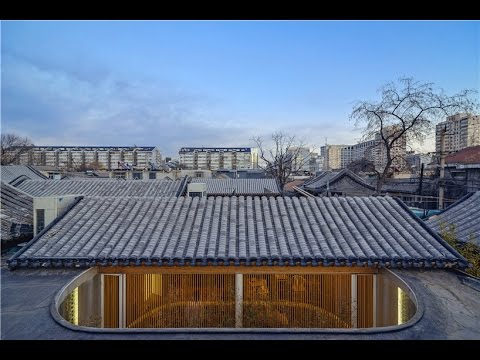 archstudio's tea house occupies a renovated hutong in beijing
