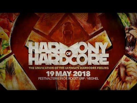 Harmony of Hardcore 2018 Festival Mix  Goosebumpers