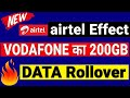 Airtel Effect Vodafone Is Giving 20 Extra Value 200GB Data Rollover Airtel vs Vodafone