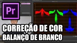 CORREÇÃO DE COR/BALANÇO DE BRANCO - Tutorial Adobe Premiere