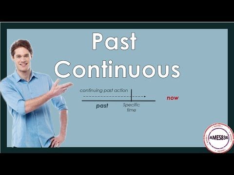 Past Continuous: English Language