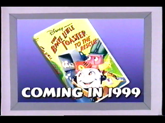 The Brave Little Toaster to the Rescue (1997) Teaser (VHS Capture)