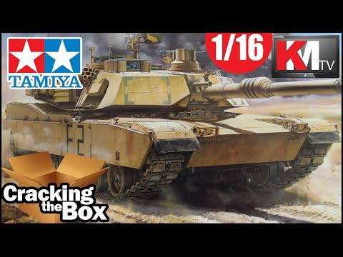 Live Unboxing the Tamiya 1/16 M1A2 Abrams!