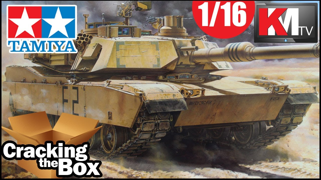 45228fd23a6a Live Unboxing the Tamiya 1 16 M1A2 Abrams! - YouTube