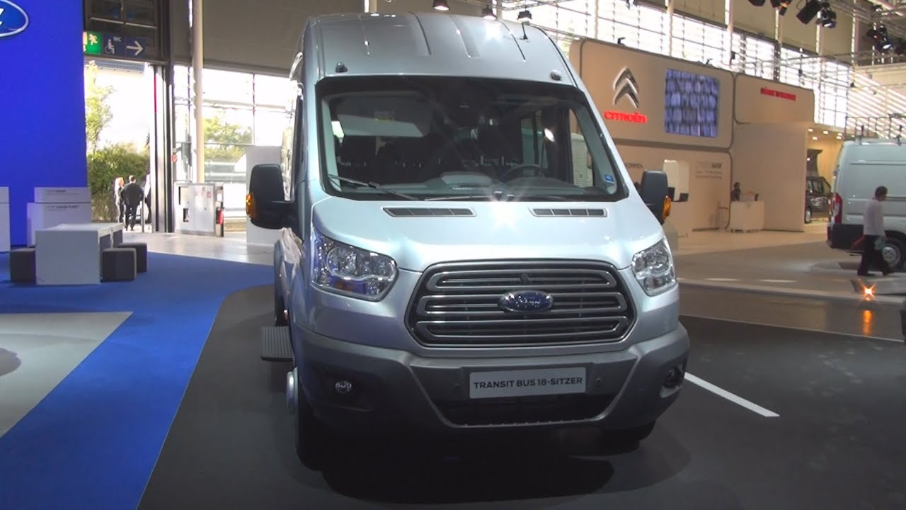 Ford Transit 12 Passenger Van >> Ford Transit 18-seat Bus (2014) Exterior and Interior in 3D 4K UHD - YouTube