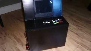 Mini Multi Arcade Cabinet (nes, Snes Or Genesis / Mega Drive - Original Hardware)