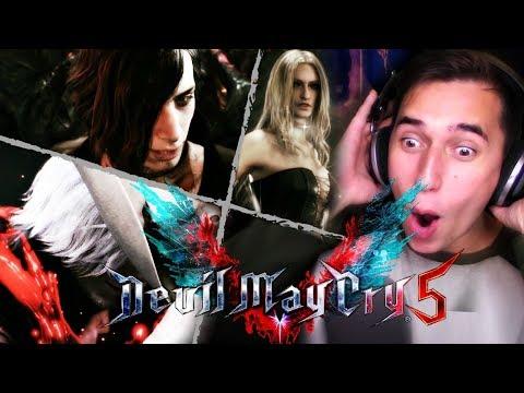 RED DEAD DANTE!? | Devil May Cry V Game Awards & V Trailer REACTIONS! thumbnail