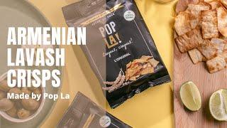 Pop La | Armenian Lavash Crisps in Ararat Box