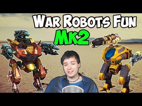 War Robots Pure Fun 3 Hours New Mk2 Hangar Live Gameplay - WR