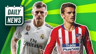 Griezmann keen on Barcelona move, PSG want Kroos plus Rabiot to United? ► Onefootball Daily News