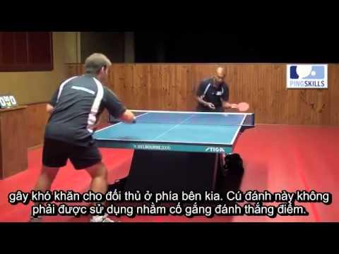09. Gò Thuận tay – Forehand Push