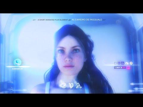EVA 1   CGI Animated Short Film   After Effects   Element 3D (subtitles)