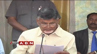 CM Chandrababu Naidu Press Meet After Meeting PM Narendra Modi | Delhi | ABN Telugu