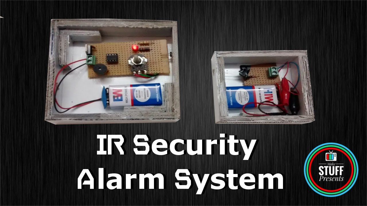 Ir Based Security Or Alarm System Using Lm358 With Light Buzzer Looking 4 Simple Circuit For Obstacle Detection Indication
