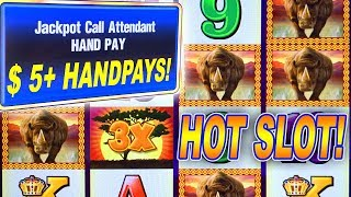 OMG!!!!  HIGH LIMIT THUNDERHORN JACKPOTS ★ WHEN A SLOT MACHI…