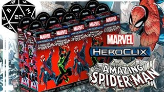 เปิดกล่อง heroclix amazing spider man // Tabletop Thailand