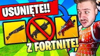 *KONIEC* SHOTGUNÓW w FORTNITE BATTLE ROYALE ❓❗️