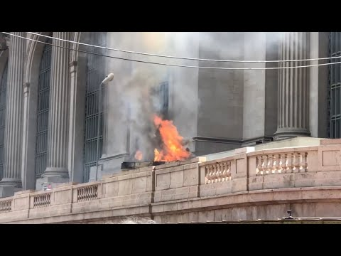 | FDNY 10-75 Box 8794 | Fire at Grand Central Terminal On the Upper Roadway