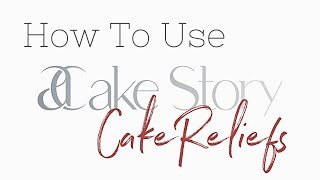 How to Use CakeReliefs   Cake Design Tools by ACS