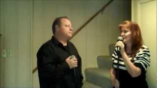 Just A Fool - Christina Aguilera & Blake Shelton Cover (Cover) - Karaoke Version sung by Bo and Dena