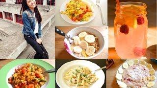 FOOD DIARY!! MEINE Ernährung - EINE Woche lang #5