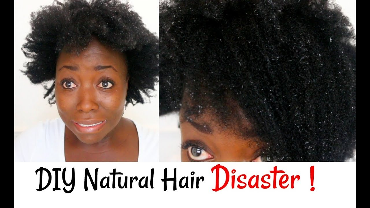 Diy Natural Hair Disaster Aloe Vera Gel Left My Hair With Flakes After Deep Conditioning Youtube
