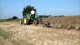 Lanz Bulldog D6006 Ackern / plowing