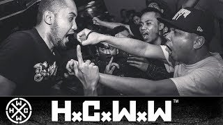 RESTRAINT - THE FINAL HOPE - HARDCORE WORLDWIDE (OFFICIAL LYRIC D.I.Y. VERSION HCWW) thumbnail