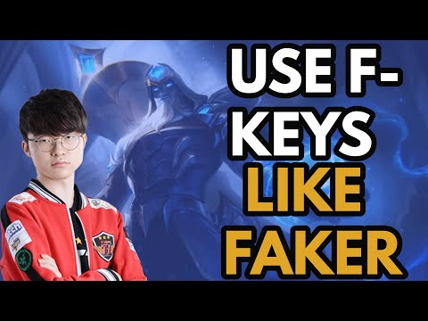 The BEST Trick To Learn To Use F-Keys, Ward Hopping, Hotkeys, And Other Things In League Of Legends!