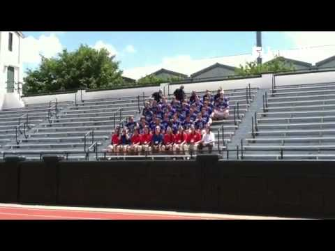 VIDEO: Both the West & East All-Stars pose for team pictures in preparation for the 40th @ilshrinega