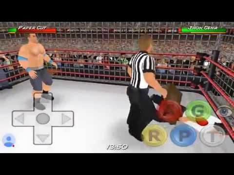 Wrestling Revolution 3D   Tag TeamMatch, Cena Vs Dean