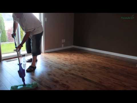 Hardwood Floor Cleaning Done Right!