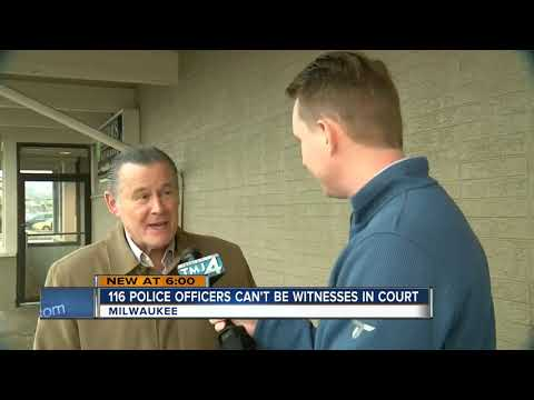 Over 100 Milwaukee Police Officers Not Allowed To Be Witnesses In Court