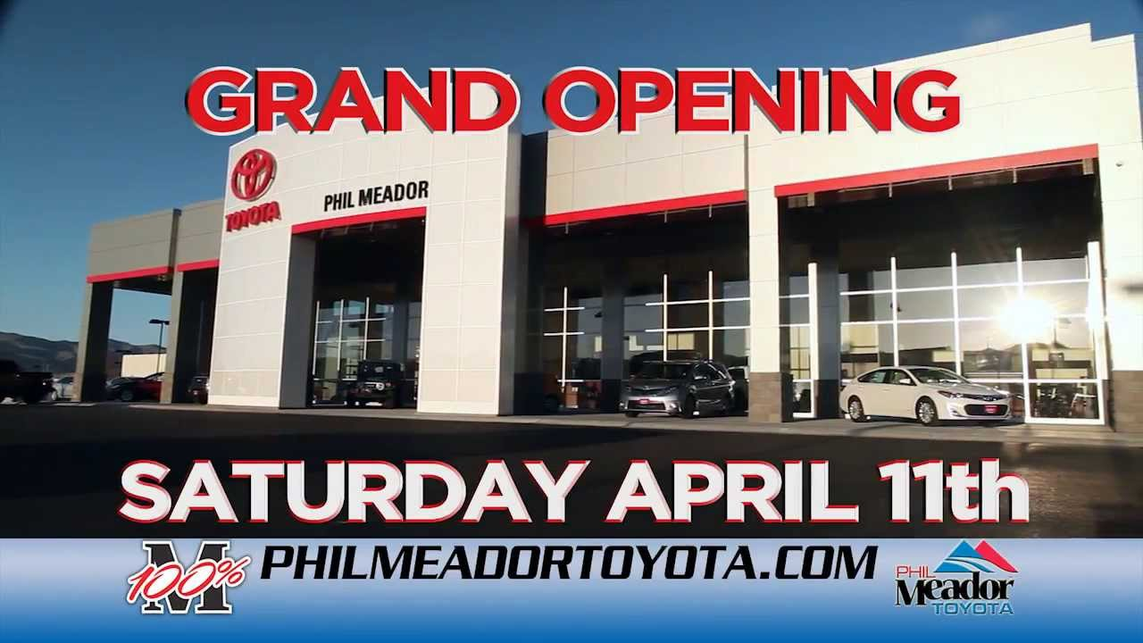 Phil Meador Toyota >> Phil Meador Toyota Grand Opening Event - YouTube