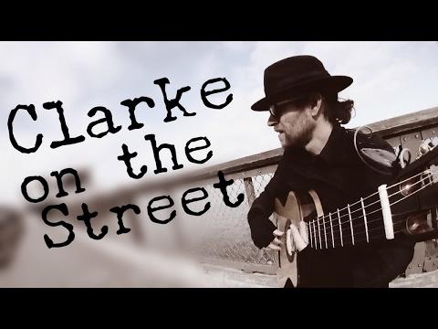 San Francisco Street Perfomer John H. Clarke