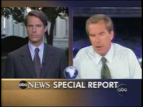 ABC  News 9-12-2001 Live Coverage  6:30  P.M E.T -  2:05 A.M
