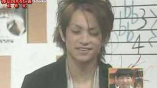 Mrs Aoki is angry with Kamenashi coz he doesnt sing well. and the t...
