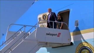 Trump arrives in Las Vegas as FBI question shooter's girlfriend