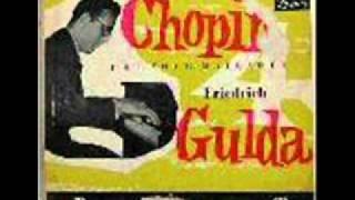 Watch music video: Friedrich Gulda - Ballade No. 1 In G Minor, Op. 23 (Chopin)