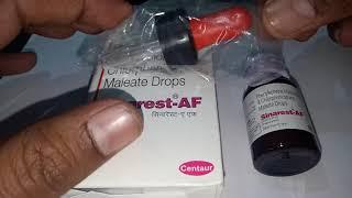 Sinarest AF Drop Full Review