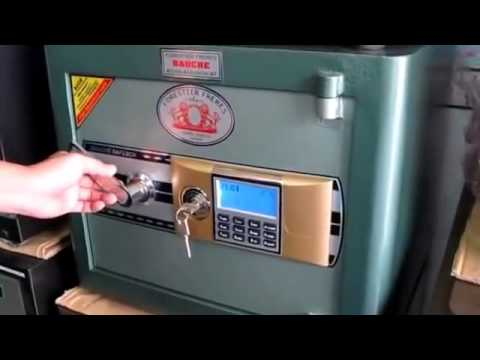 Hướng dẫn sử dụng két sắt khóa điện tử bauche - 0919.188.881